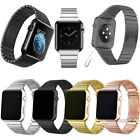 Stainless Steel Butterfly Wrist Bracelet Strap For Apple iWatch Band 38mm/42mm