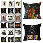 Vintage Art Cotton Linen Pillow Case Sofa Waist Throw Cushion Cover Home Decor