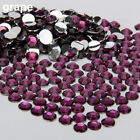 2000Pcs Flat Back Resin Rhinestones DIY Phone Case Nail Decals 2/3/4/5mm Charm