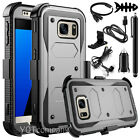 Samsung Galaxy S8/S8 Plus/S7/S7 Edge Rugged Armor Case Belt Clip Holster Cover