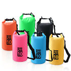 2 30LWaterproof Dry Bag Sack Pouch Boating Kayaking Camping Rafting Hiking Bags