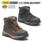 DICKIES MEDWAY Safety Boots Waterproof Thinsulate Steel Toe Leather Black /Brown