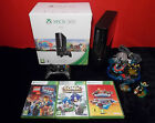 XBOX 360 CONSOLE & KIDS GAME BUNDLE CHOOSE ONE MINECRAFT LEGO DISNEY & MORE