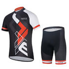Men Cycling Jersey Lightweight Breathable Short Sleeve cycling Clothing Set 32