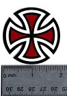 "Independent Truck Co. Cut Cross 2"" Decal Assorted Colors Classic Skate Sticker"