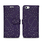 NEW Flip Wallet Leather Cover Case for Apple iPhone 4 4S 5C & iPod Touch 5th 6th