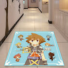 Kingdom Hearts Cute Square Velboa Floor Rug Carpet Room Doormat Non-slip Mat #19