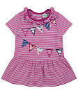 Lilly and Sid Baby Girls Surprise Applique Jersey Dress