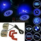 2x  LED Car Door Laser Projector Ghost Shadow Courtesy Puddle Lights