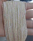 DIY Jewelry Making 1Strand Natural Freshwater Pearl Beads Beaded 2-3mm As Gift