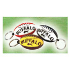 BUFFALO SPORTS AFL FOOTY TEAM KEY RINGS - PACK OF 100 (FOOT160X100)