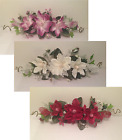 "24"" SILK CRINKLE MAGNOLIA SWAG ARTIFICIAL FLOWER HOME WEDDING CENTERPIECE DECOR"