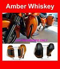 Amber Whiskey Lower Vented Fairing fit Harley 2014-17 Road Street Electra Glide