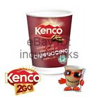 In Cup, Incup Drinks 12oz, 340ml Foil Sealed 2GO, Kenco Instant Cappuccino