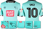 *16 / 17-UMBRO ; DERBY COUNTY 3RD KIT SHIRT SS + PATCHES / INCE 10 =SIZE*