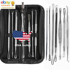US Blackhead Pimple Blemish Comedone Acne needle Extractor Remover Tool Sets
