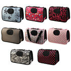 Nylon Meshy Zipper Closure Pet Carrier Dog Case Cat Crate Handbag Shoulder Bag