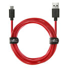Kyпить Heavy Duty 4mm OD + 20AWG USB A to Micro B Adaptive Fast Charger Data Cable Lead на еВаy.соm