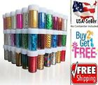 60 Colors Nail Art Stickers Tips Wraps Transfer Foil * US SELLER * BUY2GET1FREE