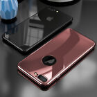 360 Degree Full Protective Mirror Case Cover + Tempered Glass For iPhone 6S 7 c