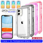 For Apple iPhone 7 8 XS 6s Plus Cover Case Shockproof Hybrid