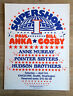 Vintage (1976) BILL COSBY Pointer Sisters Seattle Kingdome Cardboard POSTER