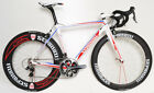 STRADALLI PRO SPORT CARBON FIBER ROAD BICYCLE SHIMANO DURA ACE 700C AERO WHEELS