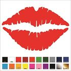 Hot Lips Vinyl Decal / Sticker - Choose Color & Size - Lipst