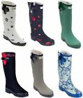 Внешний вид - Women Rubber Rain Boots - Matte Mid-Calf Waterproof Wellies