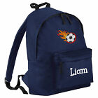 Personalised Boys Embroidered Junior Bag Backpack Rucksack Sports School