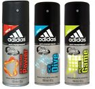6 x Adidas Cool & Dry 48H Mens Anti-Perspirant  Spray 150ml - Various Fragrance
