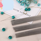 2Pcs Curved Beading Needles Easy Thread Cord Findings DIY Craft 75/100/125MM