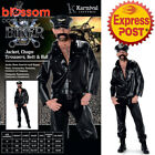 CA239 Biker YMCA 70/80's Retro Stag Do Fancy Dress Mens Costume