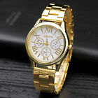 NEW Fashion Geneva Women Stainless steel Watch Leisure Ladies quartz wristwatch image