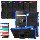 For Sony Xperia Z5 Compact / Mini Shock Proof Hard Full Case Cover +  Film + Pen