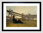 PAINTING LAURITZ ANDERSEN RING IN THE MONTH OF JUNE FRAMED ART PRINT  F12X10243