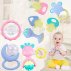10PCS/Set Hot sale Jingle Ball Ring Training Grasping Ability Rattles Baby Toys