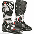 Sidi Crossfire 2 Off-Road MX Boots - White - Black size 41 uk7 uk6