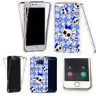360° Silicone gel shockproof Case Cover for many mobiles -design ref zq114 clear