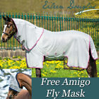 Horseware Amigo Bug Buster With Vamoose Insect Repellant Fly Rug Combo