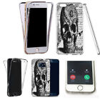 360° Silicone gel shockproof case cover for most mobiles -design ref zq132 clear