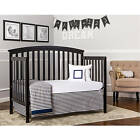 Convertible Baby Crib 5-in-1 With Bonus Mattress Eden Toddler Kid Nursery Bed