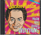 Jackie Mason All New Much Ado About Everything 2CD Audio Jewish Comedy FASTPOST
