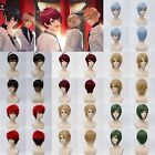A3! Music Game Anime Costume Cosplay Wig (Need Styled) +Wig CAP +Track NO