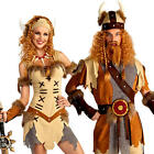 Viking Princess or Warrior Adults Fancy Dress Medieval Book Day Week Costume New