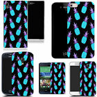 hard durable case cover for most mobile phones - blue pineapple