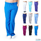Внешний вид - Womens Junior Fit Ultrasoft Nursing Hospital Uniform Stretchy Yoga Scrub Pants