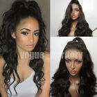 Remy Silk Top Brazilian Full Lace Human Hair Wig With Natural Pre Plucked Hair L