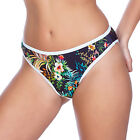 Freya Swimwear Club Tropicana High Leg Bikini Brief/Bottoms Midnight 3995 NEW