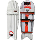 Gunn & Moore 303 Mens Kids Cricket Batting Pads Leg Guards White / Red